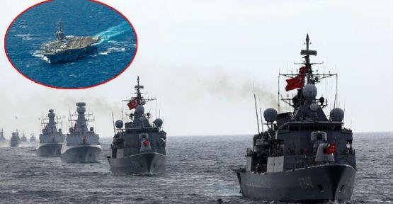ABD ve Türkiye Doğu Akdeniz'de tatbikat yapacak
