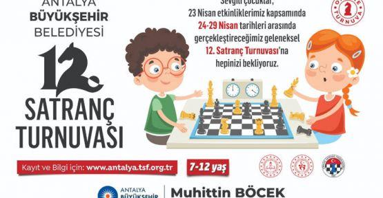 Büyükşehir'den 23 Nisan'da çevrimiçi satranç turnuvası