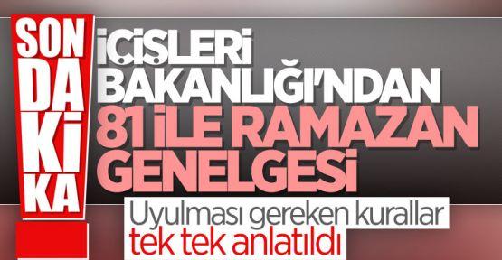 Ramazan Ayı Tedbirleri