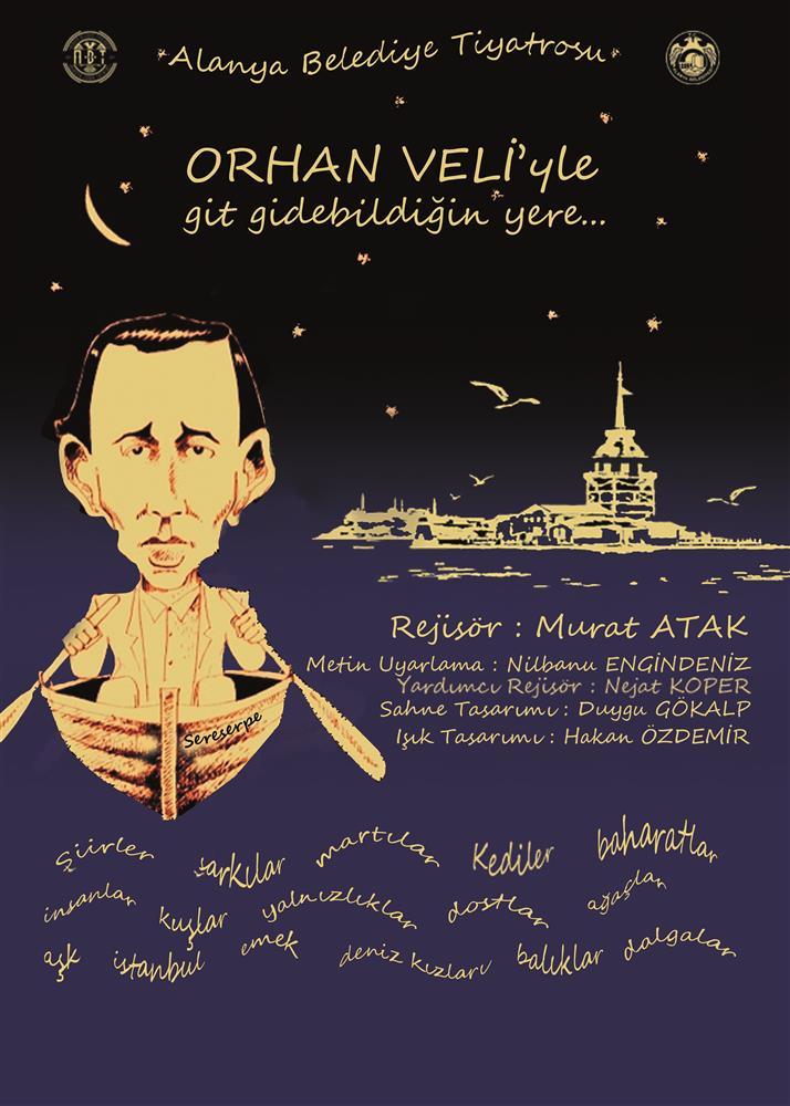 Alanya Belediye Tiyatrosu (ABT), bu hafta Açık Hava Tiyatrosu'nda sanatseverlerle buluşuyor.