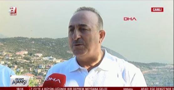 Mevlüt Çavuşoğlu: Antalya Belediye Başkanı'nın panik yaratması doğru değil