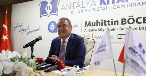 11. Antalya Kitap Fuarı başlıyor