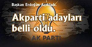 AKPARTİ adaylarını açıkladı 40 ilin belediye başkan adayı belli oldu.