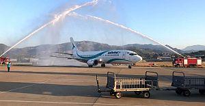 Gazipaşa Havalimanına ilk İran uçağı indi