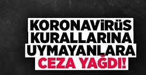 Alanya'da Koronavirüs Tedbirlerine Uymayanlara Ceza verildi.