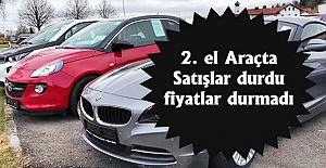 2. el araba fiyatları yükselmeye...