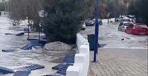 Deprem Ege Denizi#39;nde Tsunami yarattı