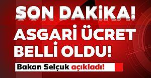 ASGARİ ÜCRET BELLİ OLDU....