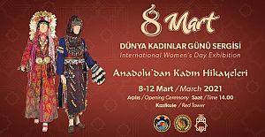 8 Mart Dünya Kadınlar Günü'nde Sergi