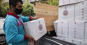 Alanya Belediyesi Ramazan Bereket Paketlerinin Dağıtımına Başladı