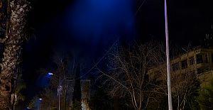 Antalya'nın kalbi mavi ışıkla aydınlandı