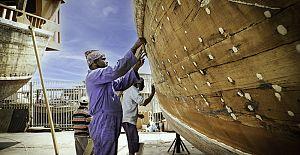 """""""Katar, tarihi Arap yelkenlilerini yenilemek için iddialı bir proje başlatıyor"""""""