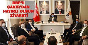 Bbp Partisi Mkyk üyesi Çakır'dan Akparti ve Mhp'ye hayırlı olsun ziyareti