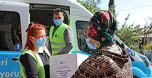 Büyükşehir, Ramazan gıda paketinin dağıtımına başladı
