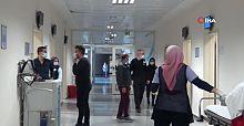 Alanya'da sağlık çalışanları aşılanmaya başlandı