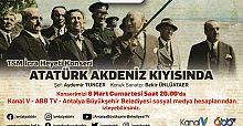 Atatürk Akdeniz Kıyısında